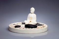 Ο πέτρινος Βούδας από το Μπαλί Στοκ εικόνα με δικαίωμα ελεύθερης χρήσης