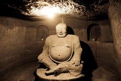 Ο πέτρινος Βούδας Στοκ Φωτογραφία