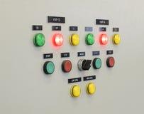 Ο πίνακας ελέγχου πυρκαγιάς, βιομηχανίες Στοκ εικόνα με δικαίωμα ελεύθερης χρήσης
