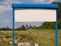 Ο πίνακας πληροφοριών Στοκ Φωτογραφίες