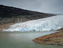 ο παγετώνας Στοκ φωτογραφία με δικαίωμα ελεύθερης χρήσης
