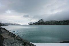 ο παγετώνας Στοκ Φωτογραφίες