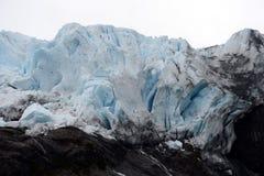 Ο παγετώνας Aguila στη νότια Παταγωνία Στοκ Εικόνες
