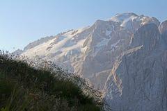 Ο παγετώνας Marmolada Στοκ εικόνα με δικαίωμα ελεύθερης χρήσης