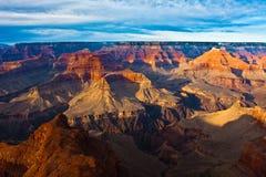 Ο παγκοσμίως διάσημος του μεγάλου εθνικού πάρκου φαραγγιών, Αριζόνα, ΗΠΑ Στοκ Εικόνες