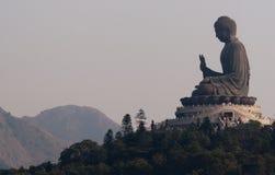Ο παγκόσμιος μεγαλύτερος Βούδας στο Χονγκ Κονγκ Στοκ φωτογραφία με δικαίωμα ελεύθερης χρήσης