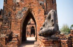 Ο παλαιός Βούδας καμία κληρονομιά κεφαλιών και βραχιόνων Στοκ Εικόνες