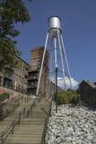 Ο παλαιός πύργος νερού Στοκ εικόνες με δικαίωμα ελεύθερης χρήσης