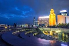 Ο παλαιός πύργος ρολογιών στο Χονγκ Κονγκ Στοκ Εικόνες