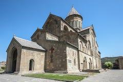 Ο πατριαρχικός καθεδρικός ναός καθεδρικών ναών όλης της Γεωργίας Svetitskhovel Στοκ Εικόνα