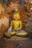 Ο παλαιός Βούδας Στοκ Εικόνες