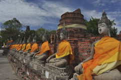 Ο παλαιός Βούδας Στοκ εικόνες με δικαίωμα ελεύθερης χρήσης