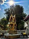 Ο παλαιός ναός καταστρέφει θρησκευτικό mai Ταϊλάνδη Chang τρόπου ζωής ελευθερίας Στοκ φωτογραφία με δικαίωμα ελεύθερης χρήσης