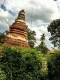 Ο παλαιός ναός καταστρέφει θρησκευτικό mai Ταϊλάνδη Chang τρόπου ζωής ελευθερίας Στοκ Εικόνες