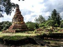Ο παλαιός ναός καταστρέφει θρησκευτικό mai Ταϊλάνδη Chang τρόπου ζωής ελευθερίας Στοκ Φωτογραφία