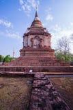 Ο παλαιός ναός σε βόρειο της Ταϊλάνδης Στοκ φωτογραφίες με δικαίωμα ελεύθερης χρήσης