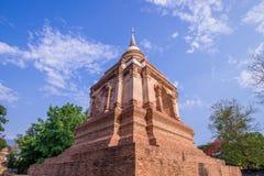 Ο παλαιός ναός σε βόρειο της Ταϊλάνδης Στοκ Φωτογραφίες