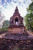Ο παλαιός ναός σε βόρειο της Ταϊλάνδης Στοκ Φωτογραφία