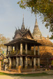 Ο παλαιός ναός, Phitsanulok, Ταϊλάνδη Στοκ εικόνα με δικαίωμα ελεύθερης χρήσης