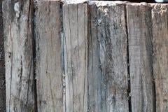 Ο παλαιός ξύλινος τοίχος σπιτιών Στοκ εικόνες με δικαίωμα ελεύθερης χρήσης