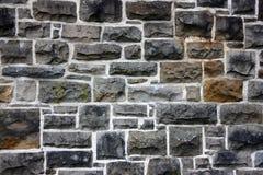 Ο παλαιός πετρώδης τοίχος Στοκ φωτογραφία με δικαίωμα ελεύθερης χρήσης