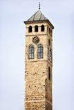 Ο παλαιός πύργος ρολογιών του Σαράγεβου Στοκ εικόνες με δικαίωμα ελεύθερης χρήσης