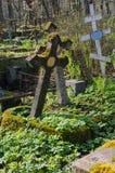 Ο παλαιός ριγμένος τάφος Στοκ εικόνα με δικαίωμα ελεύθερης χρήσης