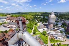 Ο παλαιός σίδηρος λειτουργεί τα μνημεία Στοκ Εικόνα