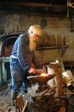 Ο παλαιός σιδηρουργός Στοκ φωτογραφίες με δικαίωμα ελεύθερης χρήσης