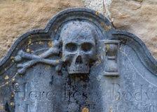 Ο παλαιός σοβαρός Stone Στοκ εικόνα με δικαίωμα ελεύθερης χρήσης