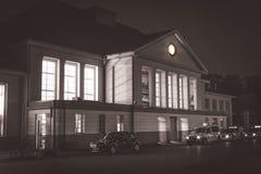 Ο παλαιός σταθμός τρένου μέσα Στοκ Φωτογραφία