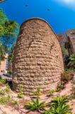 Ο παλαιός τουρκικός πύργος νερού σε Beersheba Ισραήλ στοκ φωτογραφία