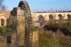 Ο παλαιός υδρόμυλος της Κόρδοβα, Ισπανία Στοκ φωτογραφία με δικαίωμα ελεύθερης χρήσης