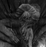 Ο παλαιός φαύνος Στοκ Εικόνες