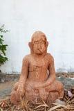 Ο παλαιός φορεμένος Βούδας στοκ εικόνα με δικαίωμα ελεύθερης χρήσης