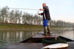 Ο παλαιός ψαράς στοκ φωτογραφία με δικαίωμα ελεύθερης χρήσης
