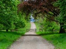 Ο περιορισμένος δρόμος στο πάρκο Mugdock στοκ φωτογραφία με δικαίωμα ελεύθερης χρήσης