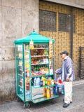 Ο περουβιανός πωλητής Στοκ Εικόνα
