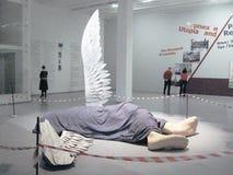Ο πεσμένος άγγελος. Στοκ φωτογραφία με δικαίωμα ελεύθερης χρήσης
