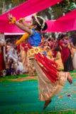 Ο πετώντας χορευτής στοκ εικόνα