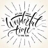 Ο πιό θαυμάσιος χρόνος της εγγραφής έτους ελεύθερη απεικόνιση δικαιώματος