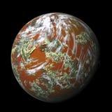 ο πλανήτης δίνει Στοκ Εικόνες