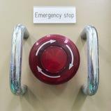 Ο πνευματικός διακόπτης, κουμπί έκτακτης ανάγκης, διακόπτης έκτακτης ανάγκης Στοκ φωτογραφίες με δικαίωμα ελεύθερης χρήσης