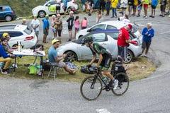 Ο ποδηλάτης Ρομάν Sicard - περιοδεύστε το de Γαλλία το 2015 Στοκ φωτογραφία με δικαίωμα ελεύθερης χρήσης