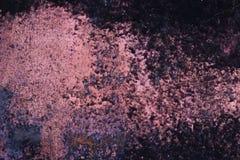 Ο πορφυρός Μαύρος σύστασης μετάλλων Grunge Στοκ Εικόνες