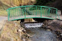 ο ποταμός γεφυρών το πόλη&sigmaf Στοκ εικόνα με δικαίωμα ελεύθερης χρήσης