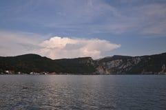 Ο ποταμός Δούναβη, Ρουμανία Στοκ Φωτογραφία