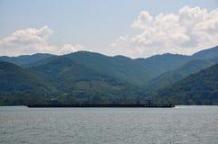 Ο ποταμός Δούναβη, Ρουμανία Στοκ εικόνες με δικαίωμα ελεύθερης χρήσης