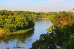 Ο ποταμός μπορεί Στοκ Φωτογραφίες