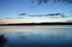 Ο ποταμός του Βόλγα Στοκ φωτογραφία με δικαίωμα ελεύθερης χρήσης